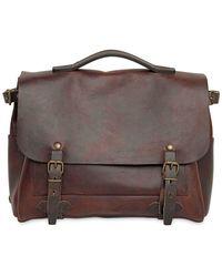 Bleu De Chauffe - Eclair Handmade Leather Business Bag - Lyst