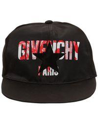 """Givenchy - Cappello Baseball """"iris"""" In Nylon - Lyst"""