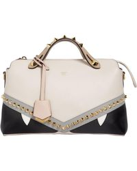 Fendi | Small By The Way Bugs Leather Bag | Lyst