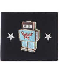 MCM - Small Roboter Leather Coin Wallet - Lyst