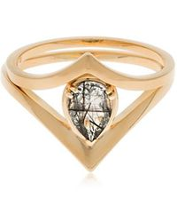 Anna Sheffield - Celestine Orbit Suite Ring Set - Lyst