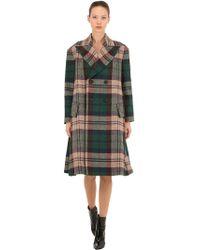 Vivienne Westwood - Virgin Wool Plaid Coat - Lyst
