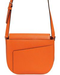 Valextra | Twist Leather Shoulder Bag | Lyst