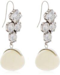 Crystal wooden drop earrings Isabel Marant jJbYj4o