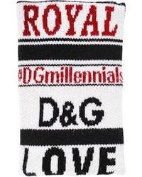 Dolce & Gabbana - Dgmillennials Jacquard Wool Cuff - Lyst
