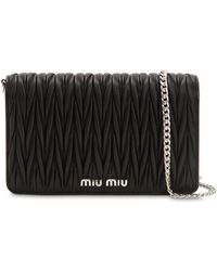 Miu Miu - Small Delice Quilted Leather Bag - Lyst
