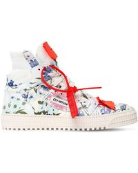 Off-White c/o Virgil Abloh - 20mm Low 3.0 Floral Leather Sneakers - Lyst