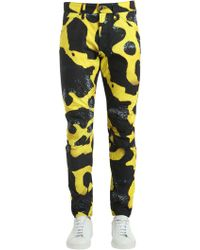 G-Star RAW - Elwood Bumblebee Poison Frog Print Jeans - Lyst