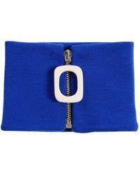 JW Anderson - Zip Merino Wool Knit Neckband - Lyst