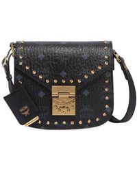 MCM - Mini Patricia Studded Shoulder Bag - Lyst