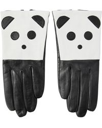 Aristide - Panda Nappa Leather Gloves - Lyst