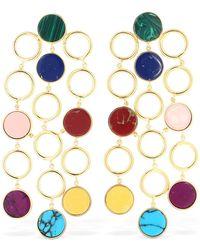 Joanna Laura Constantine - Multicolored Drop Earrings - Lyst