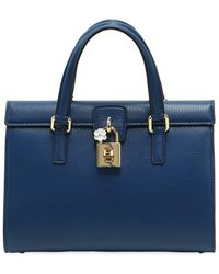 Dolce & Gabbana - Dolce Lady Grained Leather Bag - Lyst
