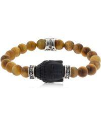 Cantini Mc Firenze | Buddha Tiger's Eye Beaded Bracelet | Lyst