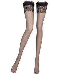 La Perla - Precieuse Thigh High Stockings - Lyst
