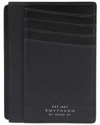 Smythson - Grosvenor Leather Bill & Card Holder - Lyst