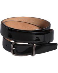 Dolce & Gabbana - Cintura In Vernice 25mm - Lyst