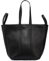 "Balenciaga - Borsa Shopping Piccola ""laundry"" In Pelle - Lyst"