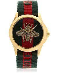 Gucci - Bee Le Marché Des Merveilles Watch - Lyst