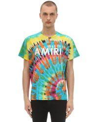 b5136a82 Amiri 'city Dragon' Graphic Print Distressed T-shirt for Men - Lyst