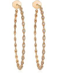 Stone Paris - Yasmine Large Hoop Earrings - Lyst