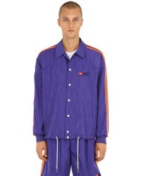 DIESEL - Embroidered Baseball Jacket - Lyst