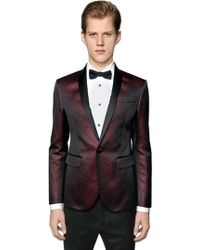 DSquared² - Giacca Smoking In Misto Cotone Jacquard - Lyst