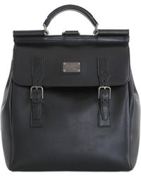 Dolce & Gabbana - Leather Maxi Backpack - Lyst