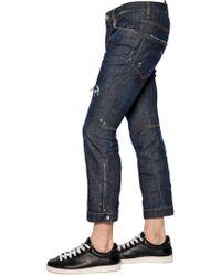 DSquared² - 18.5cm Biker Ski Stretch Denim Jeans - Lyst