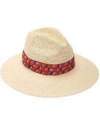 Borsalino - Logo Semi-crochet Hat - Lyst