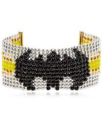 Bijoux De Famille - Batgirl Beaded Cuff Bracelet - Lyst