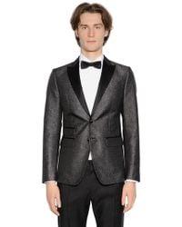 DSquared² - London Lurex Jacquard Tuxedo Jacket - Lyst