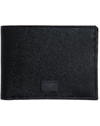 Dolce & Gabbana - Dauphine Leather Classic Wallet - Lyst
