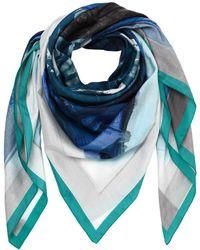 Faliero Sarti - Cotton & Silk Printed Scarf - Lyst