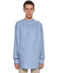 Lanvin - Camicia In Cotone - Lyst