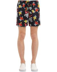 Vilebrequin - Moorea Turtle Sweater Print Swim Shorts - Lyst
