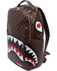 Sprayground - Shark In Paris Faux Leather Backpack - Lyst