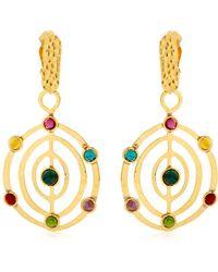 Sylvia Toledano - Éllipse Stone Earrings - Lyst