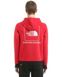 The North Face - Never Stop Hooded Cotton Sweatshirt - Lyst