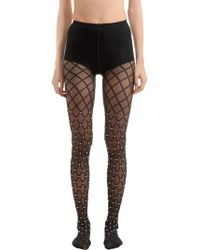Wolford - Collant Con Perle - Lyst