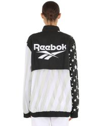 "Reebok - Giacca ""rcxpm Hush Olympic"" - Lyst"