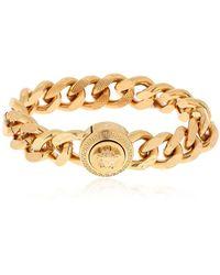 "Versace - Bracelet Chaîne Plate ""Medusa"" - Lyst"