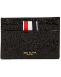 Thom Browne Double Sided Patent Leather Card Holder