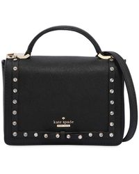 Kate Spade - Mini Janine Saffiano Shoulder Bag - Lyst