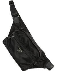 Prada - Nylon Canvas Crossbody Bag - Lyst