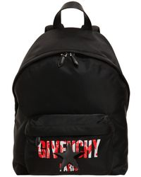 Givenchy - Iris Logo Print Nylon Cordura Backpack - Lyst