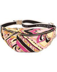 Emilio Pucci - Printed Nylon Logo Belt Pack - Lyst