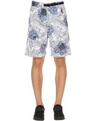 Nike - Lab Floral Cotton Shorts - Lyst