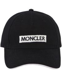 Moncler - Logo Embroidered Hat - Lyst