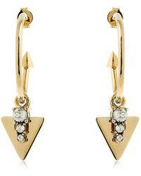 Schield - Hoop Earrings - Lyst